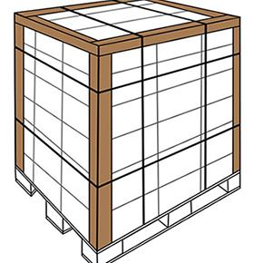 Coltarele din carton presat ofera protectie paletilor