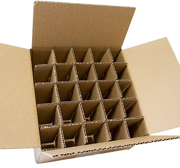 Cutie carton cu separatori