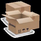 Cutie clasica din carton   Packshop.ro